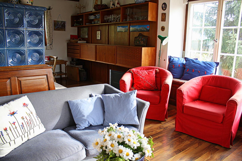 Sitzgruppe im wohnzimmer haus sonneck bartholom berg - Sitzgruppe wohnzimmer ...