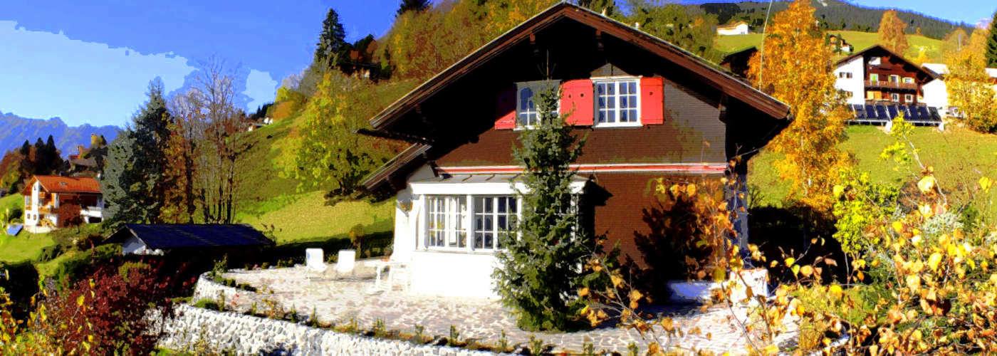 Maison à l'extérieur