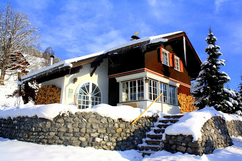 Haus außen - Haus Sonneck Bartholomäberg